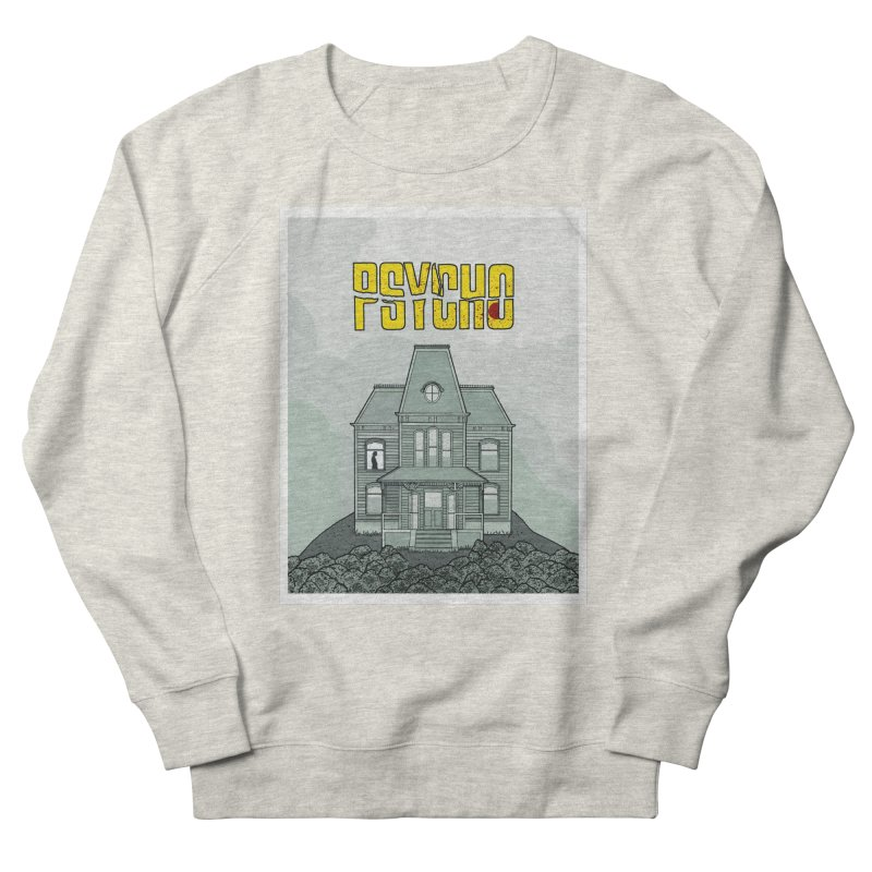 Psycho Women's French Terry Sweatshirt by Steven Compton's Artist Shop