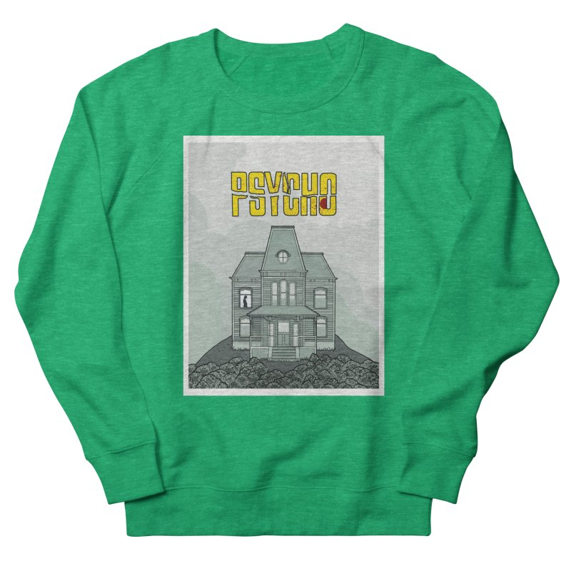 Psycho Men's Sweatshirt by Steven Compton's Artist Shop