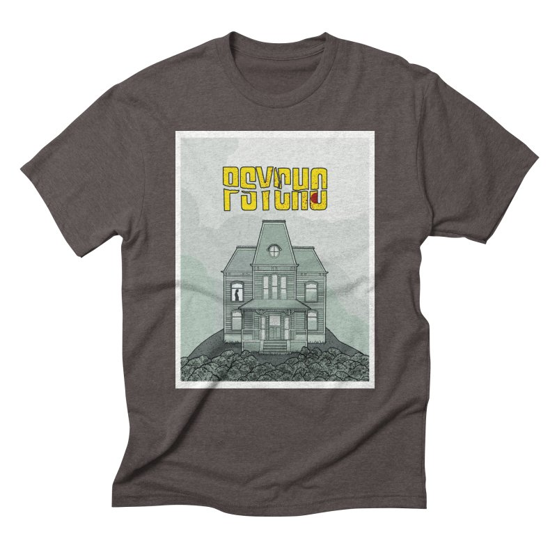 Psycho Men's T-Shirt by Steven Compton's Artist Shop