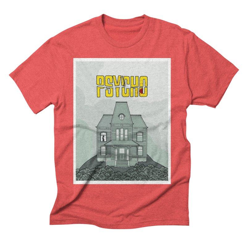 Psycho Men's Triblend T-shirt by Steven Compton's Artist Shop