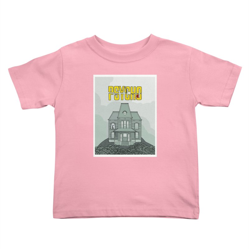 Psycho Kids Toddler T-Shirt by Steven Compton's Artist Shop