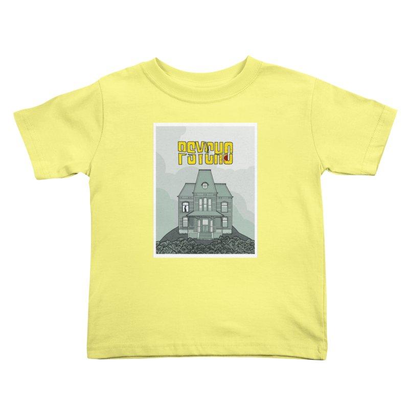 Psycho Kids Toddler T-Shirt by Steven Compton's Artist Shop