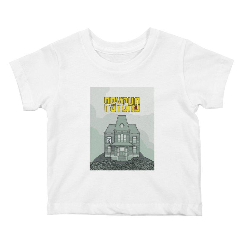 Psycho Kids Baby T-Shirt by Steven Compton's Artist Shop
