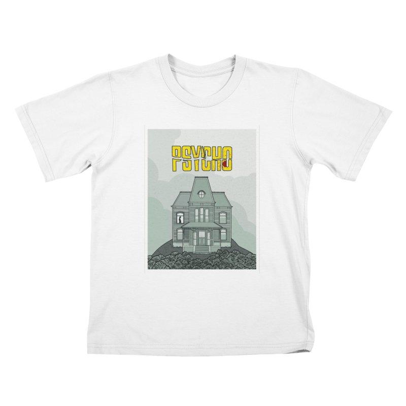 Psycho Kids T-shirt by Steven Compton's Artist Shop