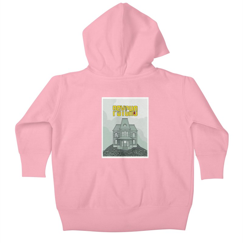 Psycho Kids Baby Zip-Up Hoody by Steven Compton's Artist Shop