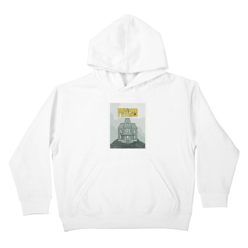 Psycho Kids Pullover Hoody by Steven Compton's Artist Shop