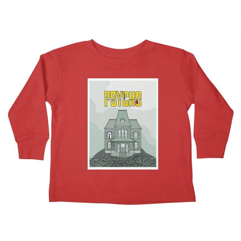 Psycho Kids Toddler Longsleeve T-Shirt by Steven Compton's Artist Shop