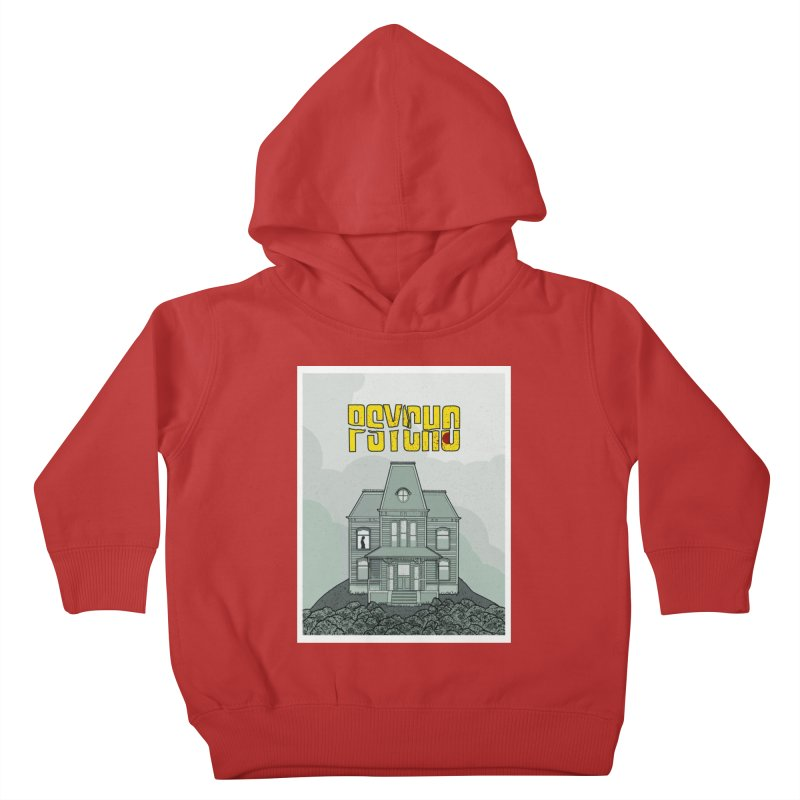 Psycho Kids Toddler Pullover Hoody by Steven Compton's Artist Shop