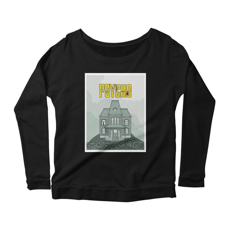 Psycho Women's Longsleeve T-Shirt by Steven Compton's Artist Shop