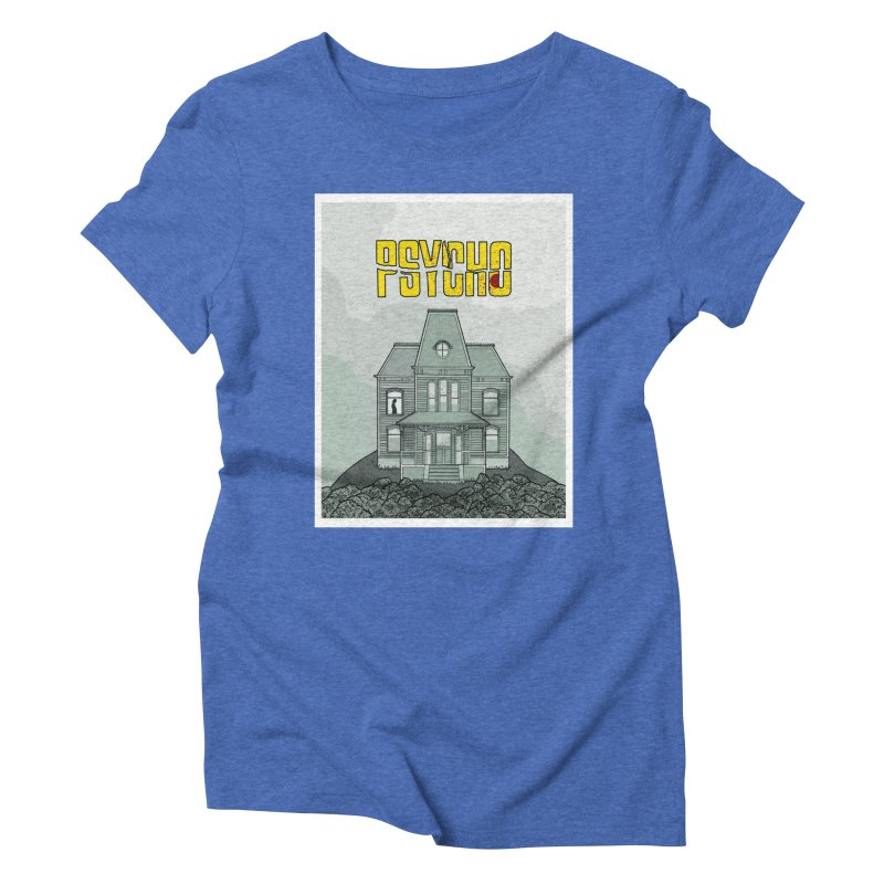 Psycho Women's Triblend T-Shirt by Steven Compton's Artist Shop