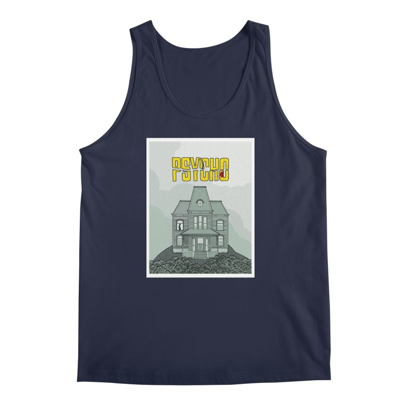 Psycho Men's Regular Tank by Steven Compton's Artist Shop