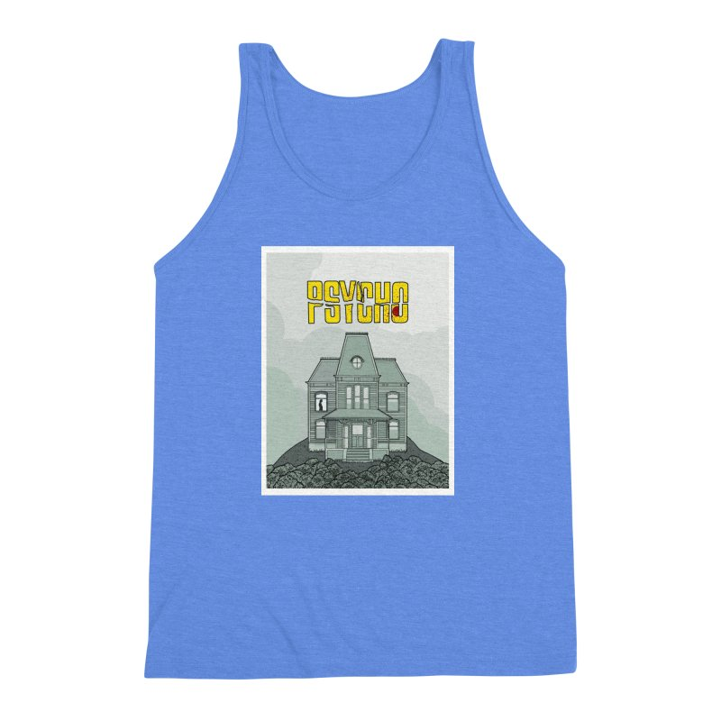 Psycho Men's Triblend Tank by Steven Compton's Artist Shop