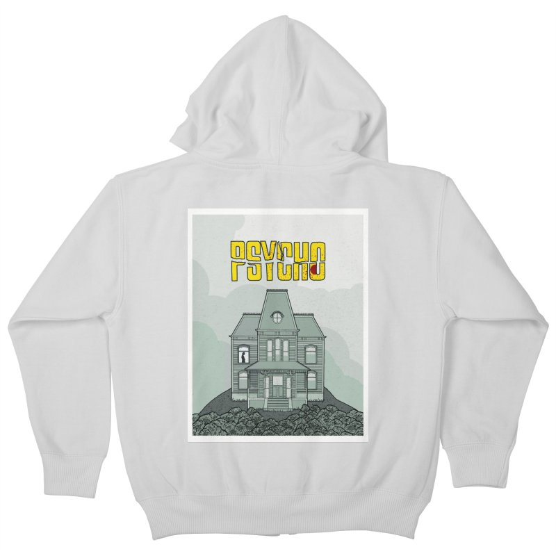 Psycho Kids Zip-Up Hoody by Steven Compton's Artist Shop
