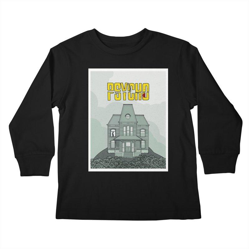 Psycho Kids Longsleeve T-Shirt by Steven Compton's Artist Shop