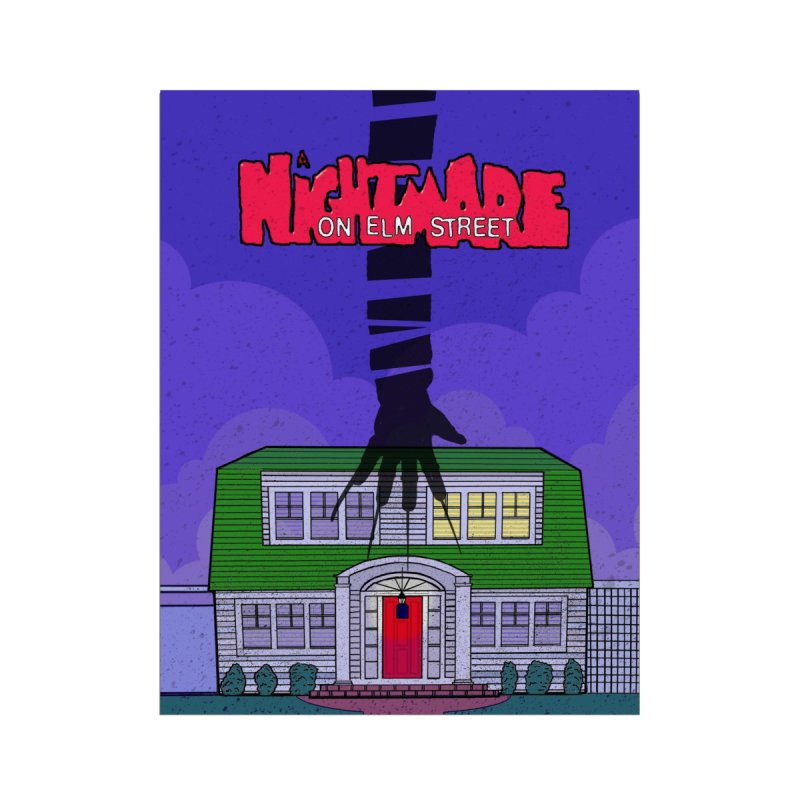 A Nightmare on Elm Street None  by Steven Compton's Artist Shop