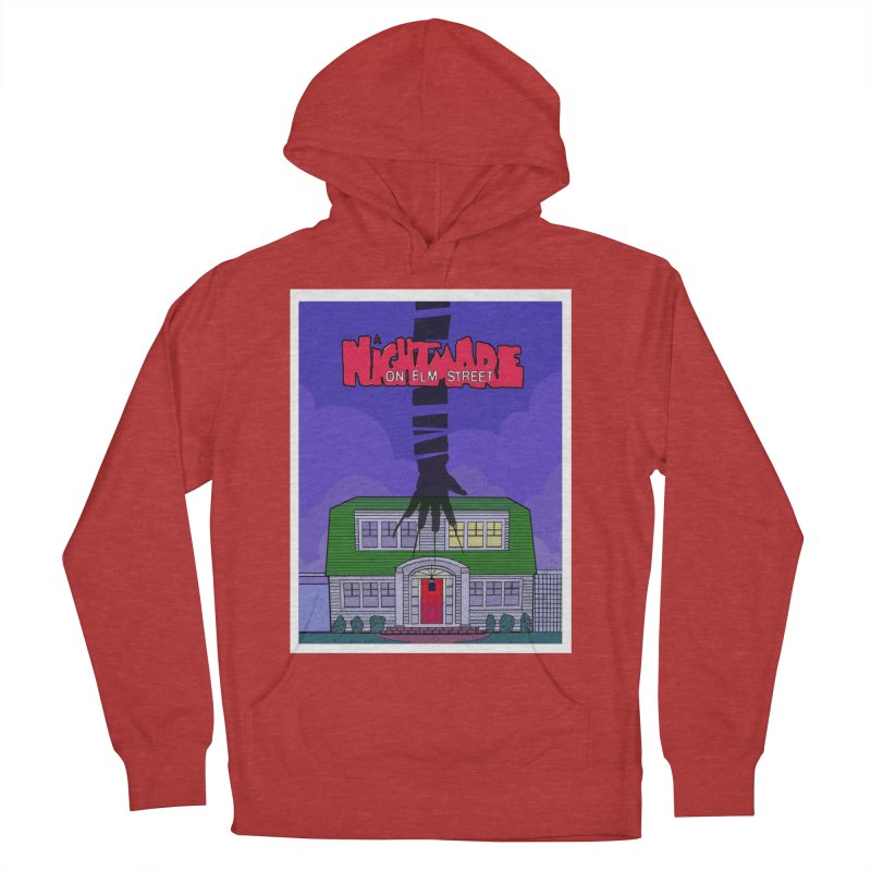 A Nightmare on Elm Street Men's French Terry Pullover Hoody by Steven Compton's Artist Shop
