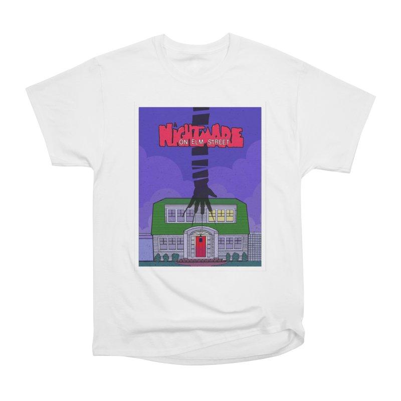 A Nightmare on Elm Street Men's Heavyweight T-Shirt by Steven Compton's Artist Shop