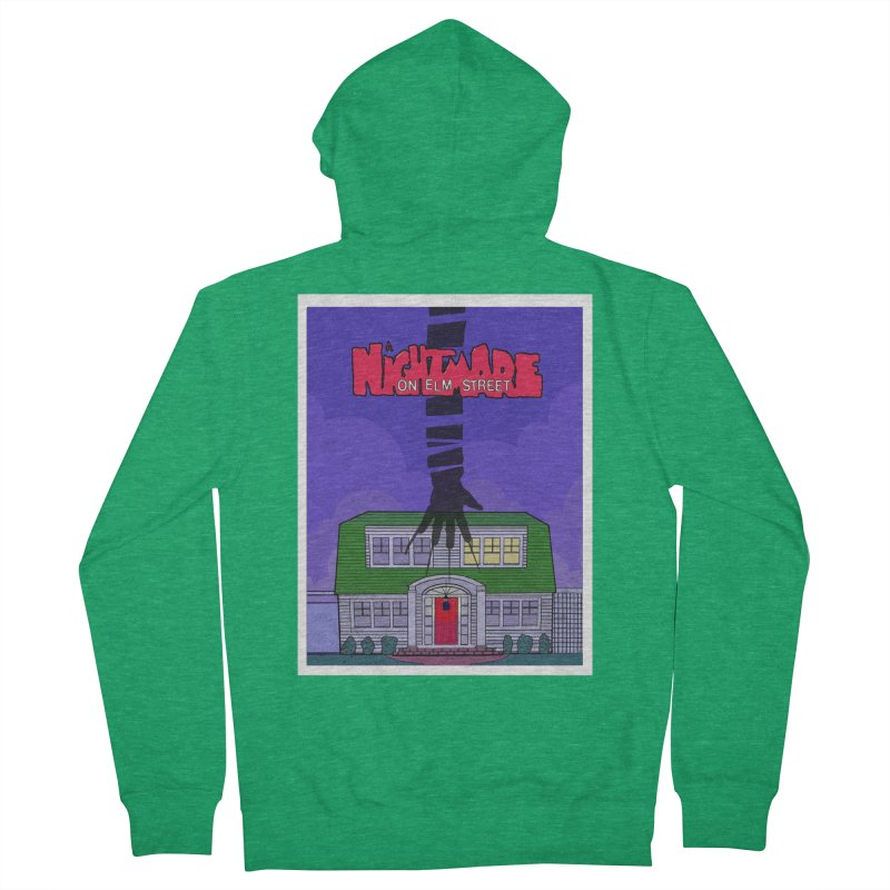 A Nightmare on Elm Street Men's French Terry Zip-Up Hoody by Steven Compton's Artist Shop