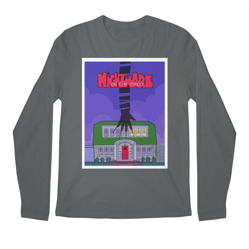 A Nightmare on Elm Street Men's Regular Longsleeve T-Shirt by Steven Compton's Artist Shop