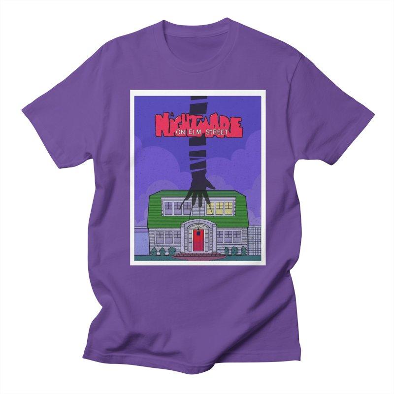 A Nightmare on Elm Street Men's Regular T-Shirt by Steven Compton's Artist Shop