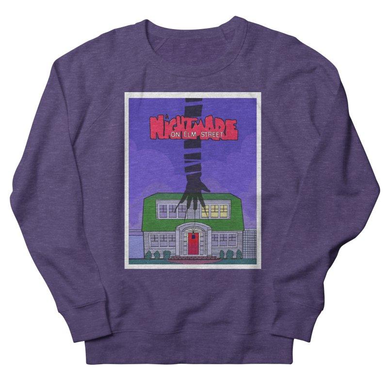 A Nightmare on Elm Street Men's French Terry Sweatshirt by Steven Compton's Artist Shop