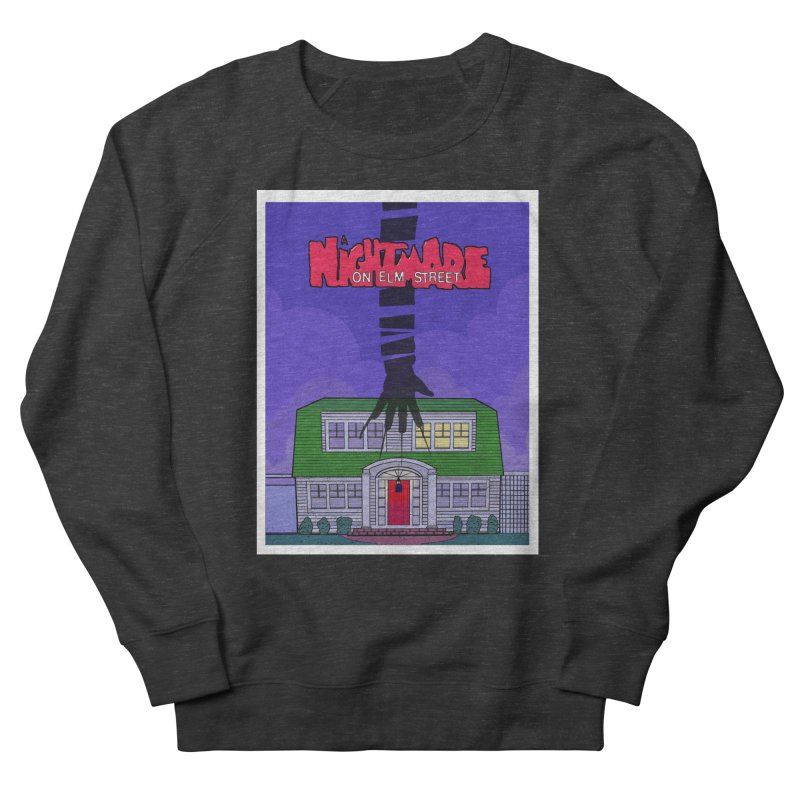 A Nightmare on Elm Street Men's French Terry Sweatshirt by Steven Compton's Artist Shop