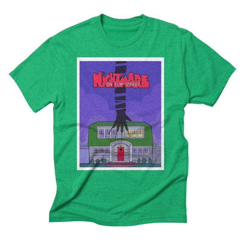 A Nightmare on Elm Street Men's T-Shirt by Steven Compton's Artist Shop