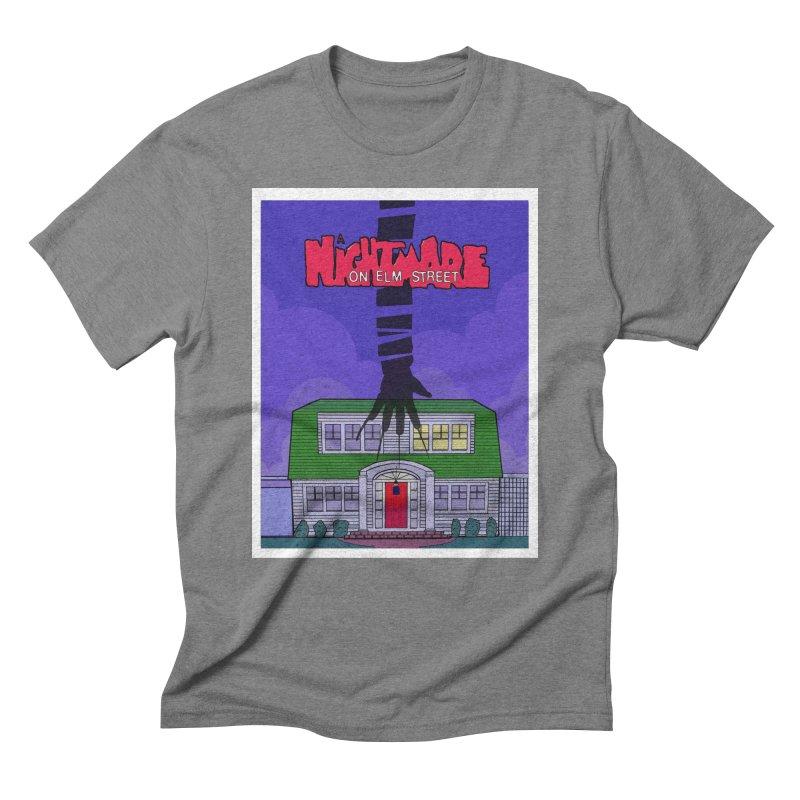 A Nightmare on Elm Street Men's Triblend T-Shirt by Steven Compton's Artist Shop