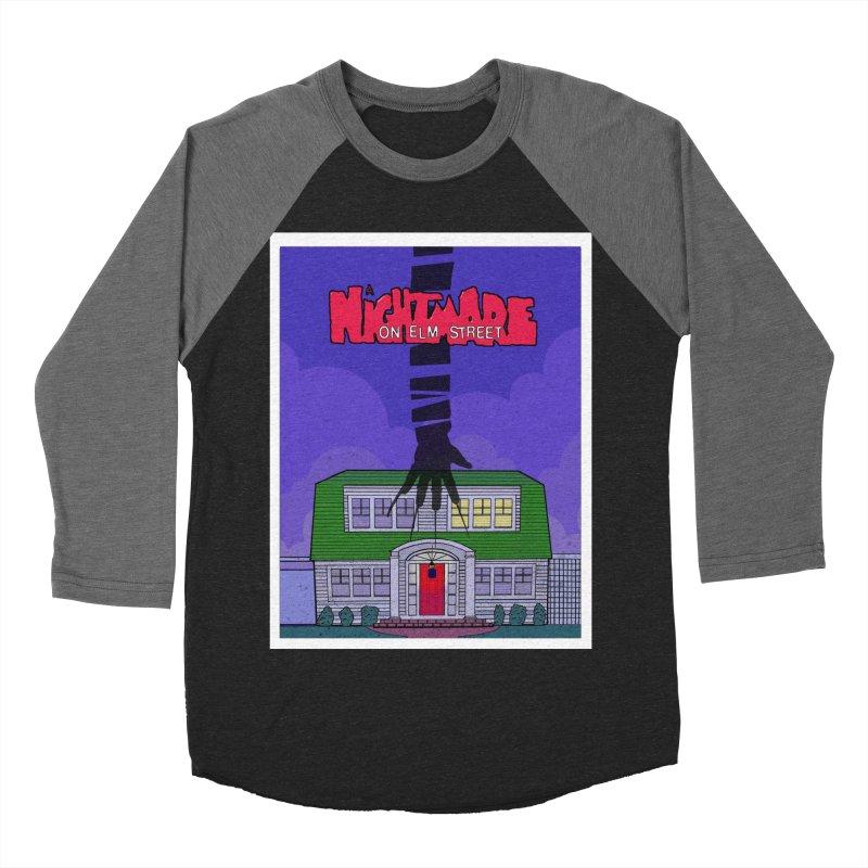 A Nightmare on Elm Street Men's Baseball Triblend Longsleeve T-Shirt by Steven Compton's Artist Shop