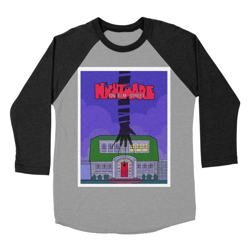 A Nightmare on Elm Street Men's Baseball Triblend T-Shirt by Steven Compton's Artist Shop