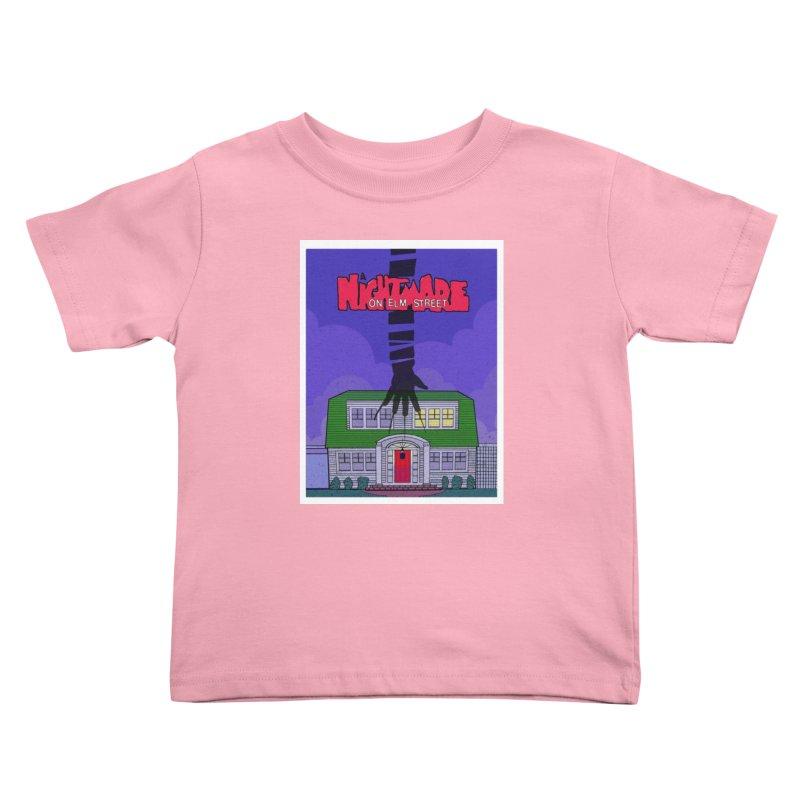 A Nightmare on Elm Street Kids Toddler T-Shirt by Steven Compton's Artist Shop