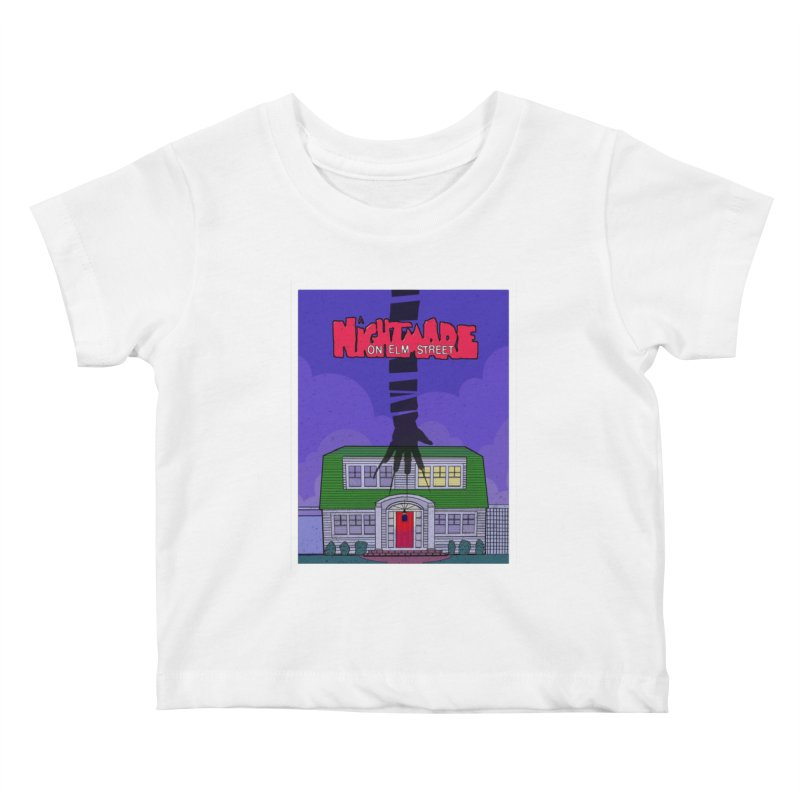 A Nightmare on Elm Street Kids Baby T-Shirt by Steven Compton's Artist Shop