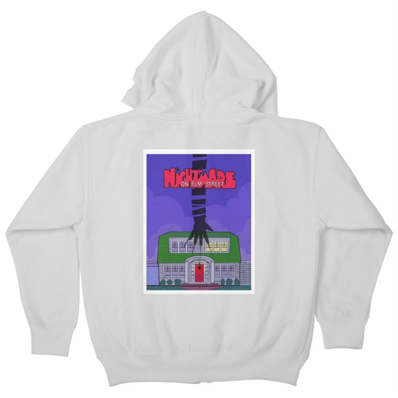 A Nightmare on Elm Street Kids Zip-Up Hoody by Steven Compton's Artist Shop