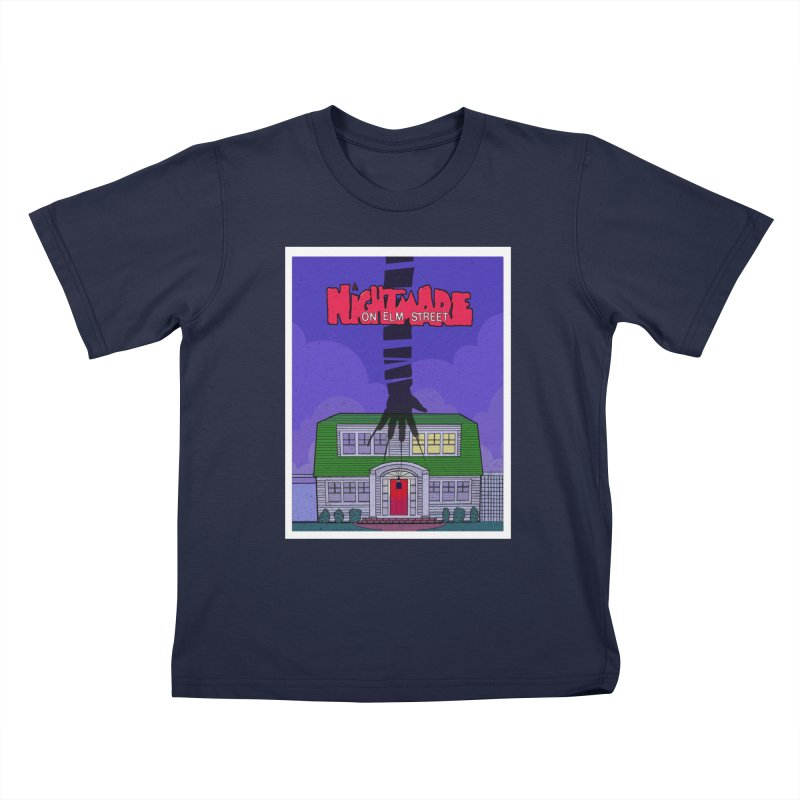 A Nightmare on Elm Street Kids T-Shirt by Steven Compton's Artist Shop