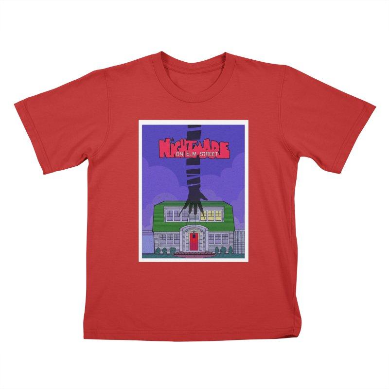 A Nightmare on Elm Street Kids T-Shirt by Steven Compton's Artist Shop