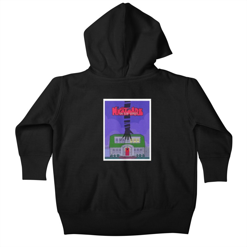 A Nightmare on Elm Street Kids Baby Zip-Up Hoody by Steven Compton's Artist Shop
