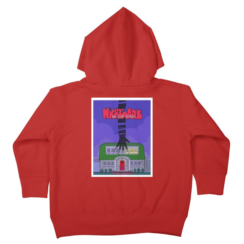 A Nightmare on Elm Street Kids Toddler Zip-Up Hoody by Steven Compton's Artist Shop