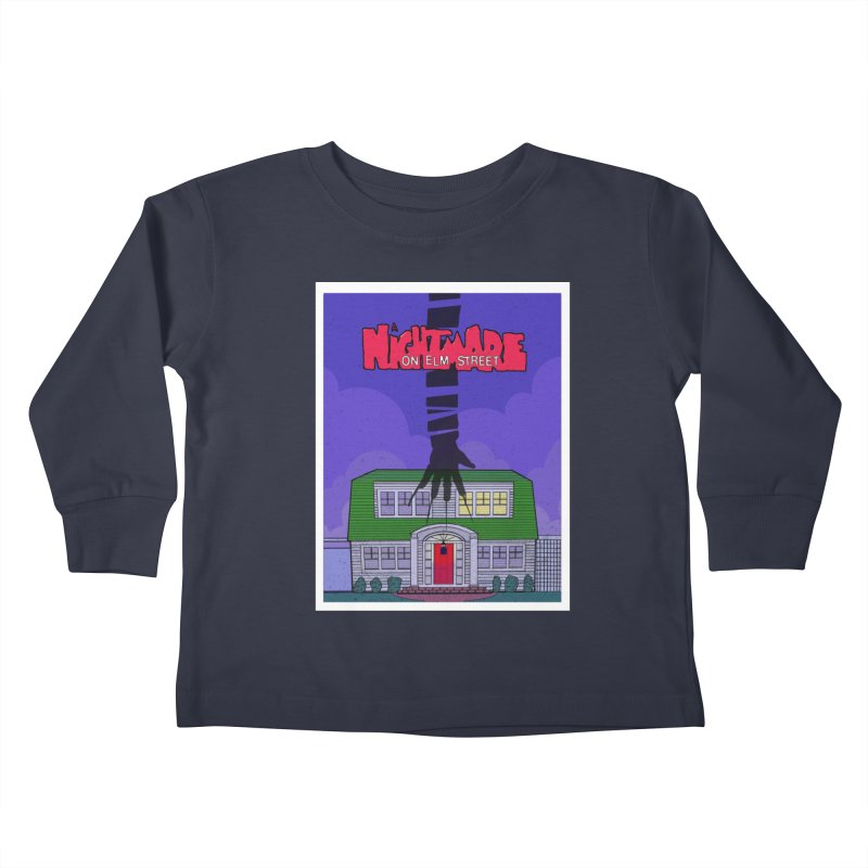 A Nightmare on Elm Street Kids Toddler Longsleeve T-Shirt by Steven Compton's Artist Shop