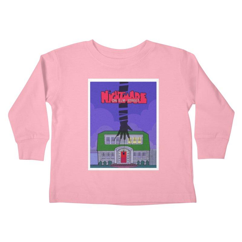 A Nightmare on Elm Street Kids Toddler Longsleeve T-Shirt by Steven Compton's Artist Shop