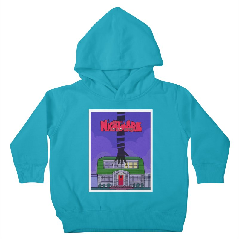 A Nightmare on Elm Street Kids Toddler Pullover Hoody by Steven Compton's Artist Shop