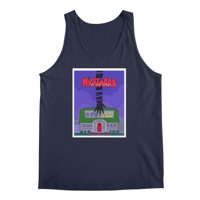 A Nightmare on Elm Street Men's Regular Tank by Steven Compton's Artist Shop