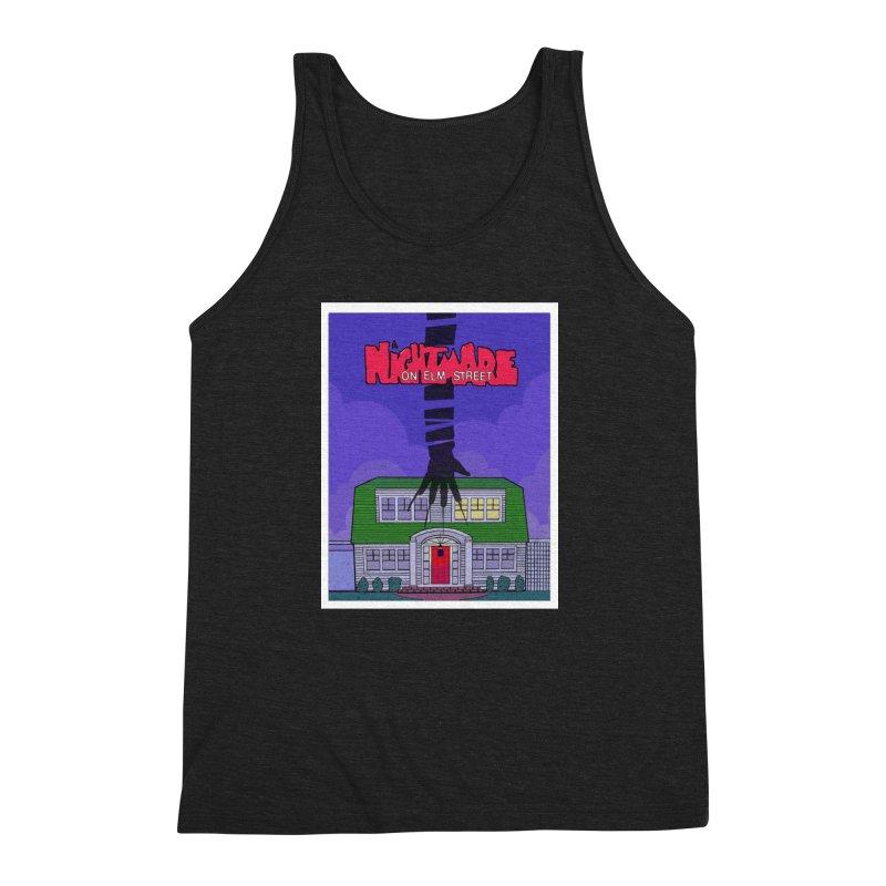 A Nightmare on Elm Street Men's Triblend Tank by Steven Compton's Artist Shop