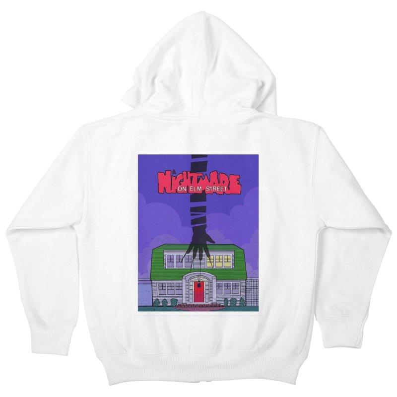 A Nightmare on Elm Street Kids Zip-Up Hoody by Steven Compton's Artist Shop