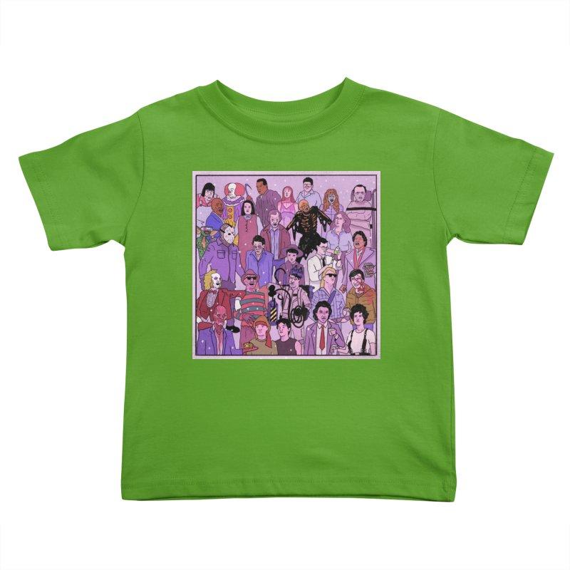 Murder Party Kids Toddler T-Shirt by Steven Compton's Artist Shop