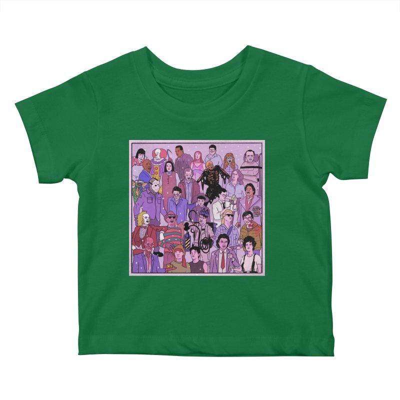 Murder Party Kids Baby T-Shirt by Steven Compton's Artist Shop