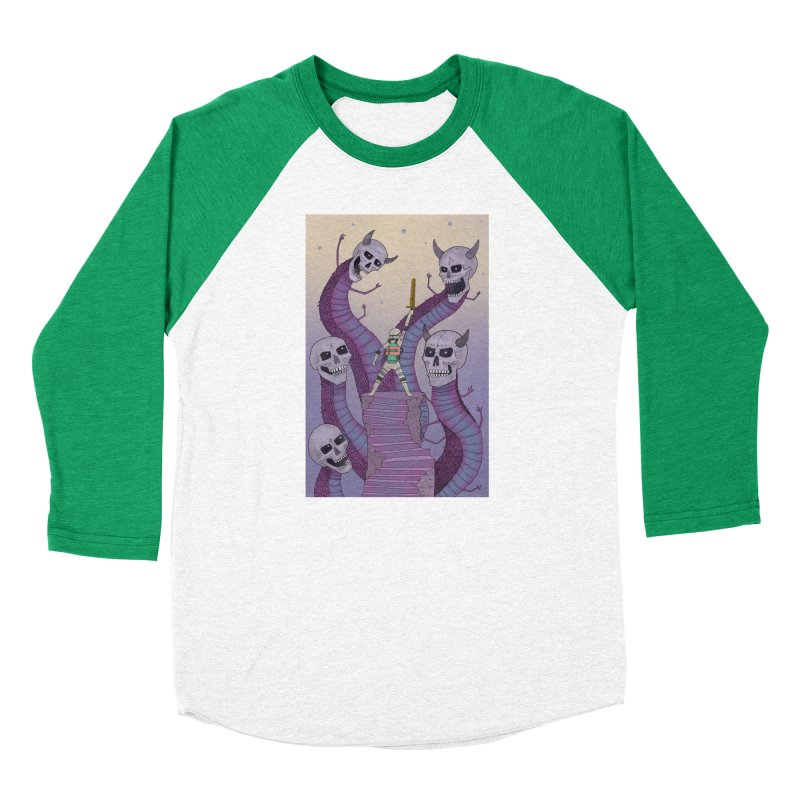 New!! T-Shirt Women's Baseball Triblend Longsleeve T-Shirt by Steven Compton's Artist Shop