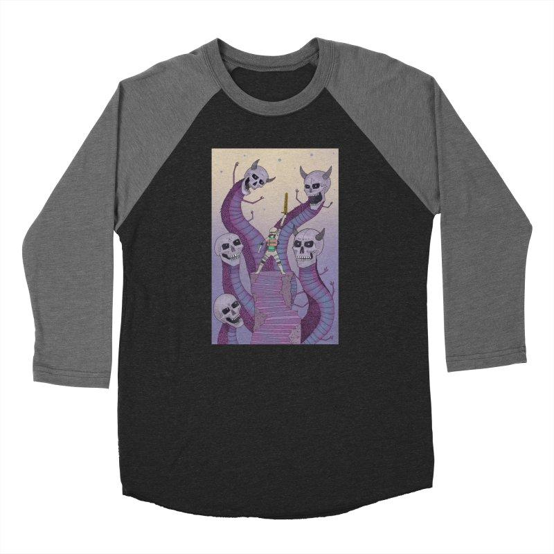 New!! T-Shirt Men's Baseball Triblend Longsleeve T-Shirt by Steven Compton's Artist Shop