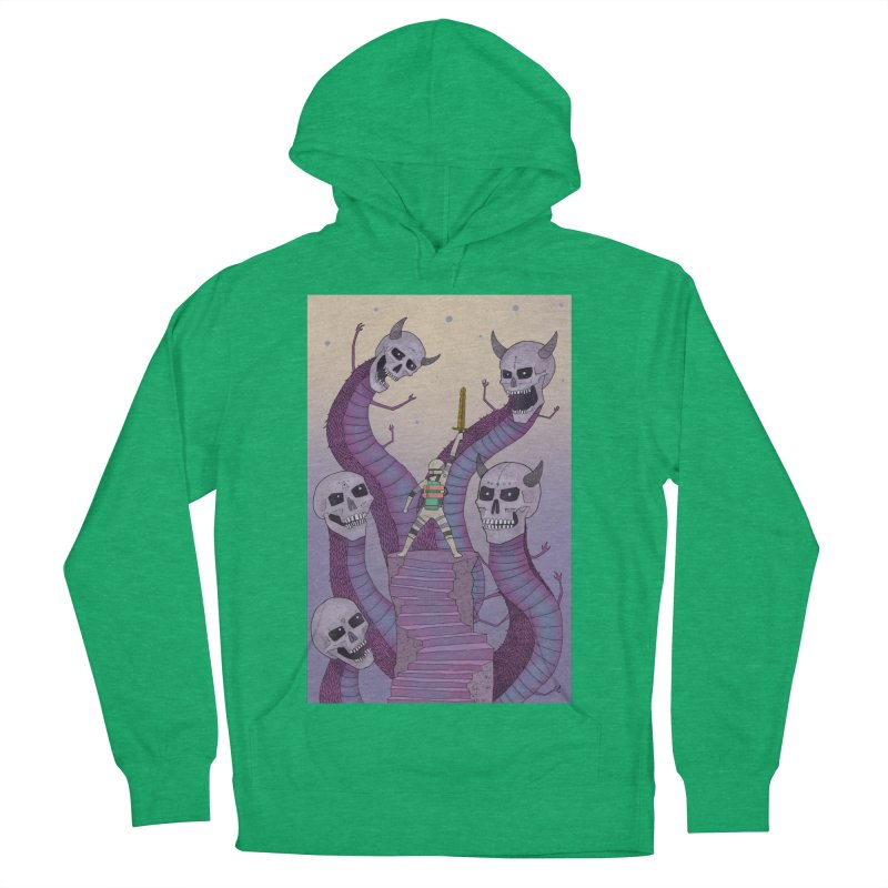 New!! T-Shirt Women's French Terry Pullover Hoody by Steven Compton's Artist Shop