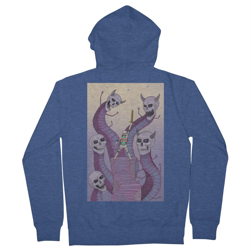 New!! T-Shirt Women's French Terry Zip-Up Hoody by Steven Compton's Artist Shop