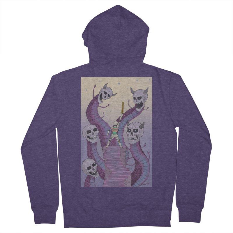 New!! T-Shirt Men's Zip-Up Hoody by Steven Compton's Artist Shop